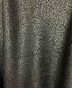 Élasthanne imitation cuir noir