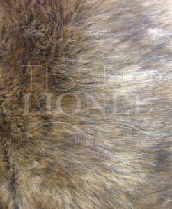 stampato sopra gamma leone pelliccia selvatici