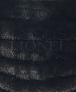 afdrukken van high-end black minkbont