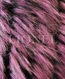 pelliccia stampata orso rosa