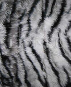 IMPRESO piel del tigre BLANCO