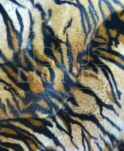printed fur velboas tiger