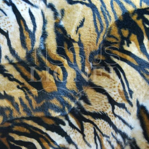 fourrure imprimé velboas tigre