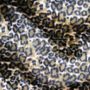 fourrure imprimé velboas tigre marron