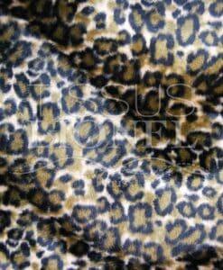 gedrukte bont velboas bruin tiger