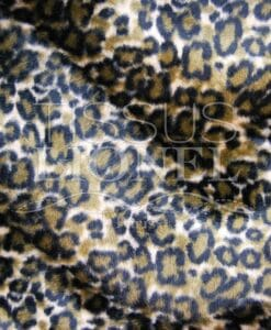 printed fur velboas brown tiger