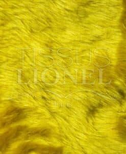fourrure poil court jaune or