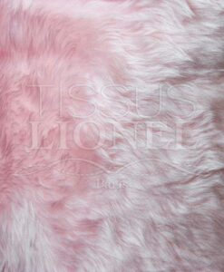 PELZMANTEL SHORT PINK