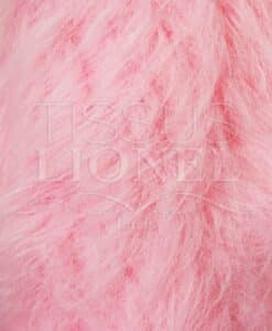 FUR COAT LONG PINK