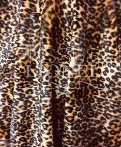 Fourrure velboas leopard jaune