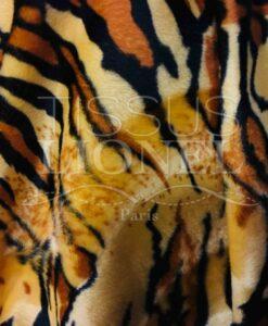 Piel velboas tigre amarillo