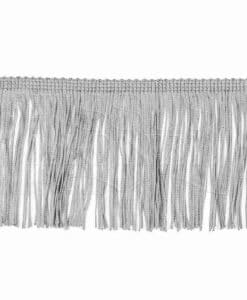 fringe 10 cm light gray