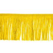frange 10 cm jaune