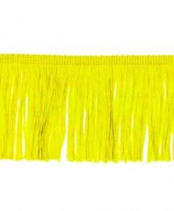 fringe 10 cm lemon yellow