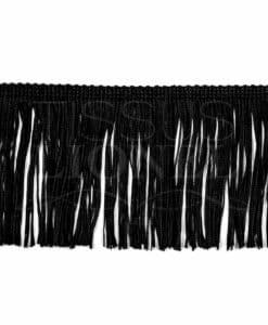 fringe 10 cm black