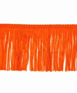 frange 10 cm orange fluo