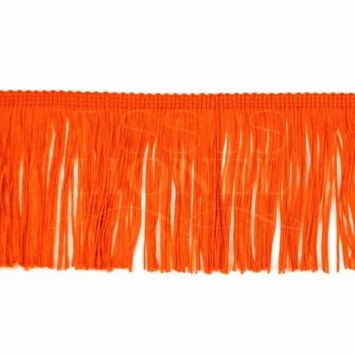 frange 10 cm orange fluo