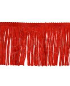 fringe 10 cm red