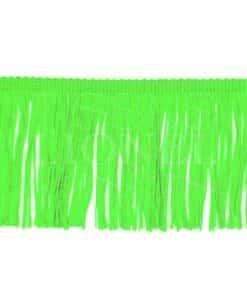 бахрома 10 см неоновый зеленый