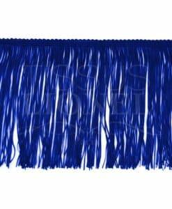 frange 15 cm bleu royal