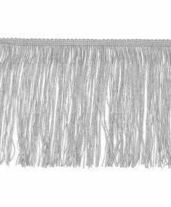 frange 15 cm gris clair
