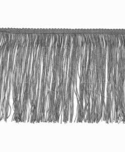 frange 15 cm gris foncé