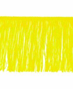 frange 15 cm jaune citron