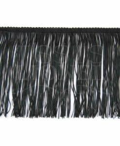 fringe 15 cm black
