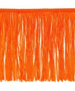 бахрома 20 см оранжевый флуо
