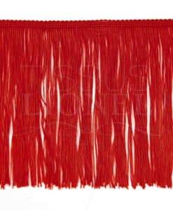 frange 20 cm rouge