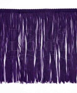frange 20 cm violet