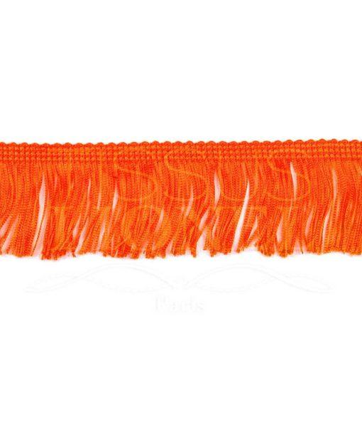 frange 5 cm orange fluo
