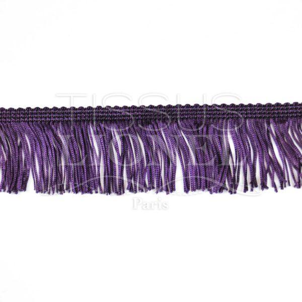 frange 5 cm violet