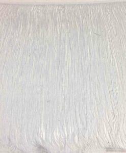 Franse 50 cm weiß