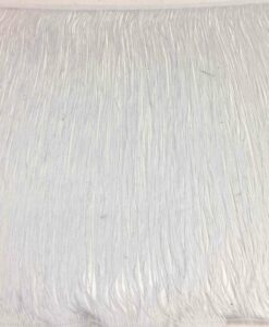 Frange 50 cm blanc