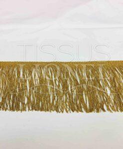 Frange lurex or 13 cm