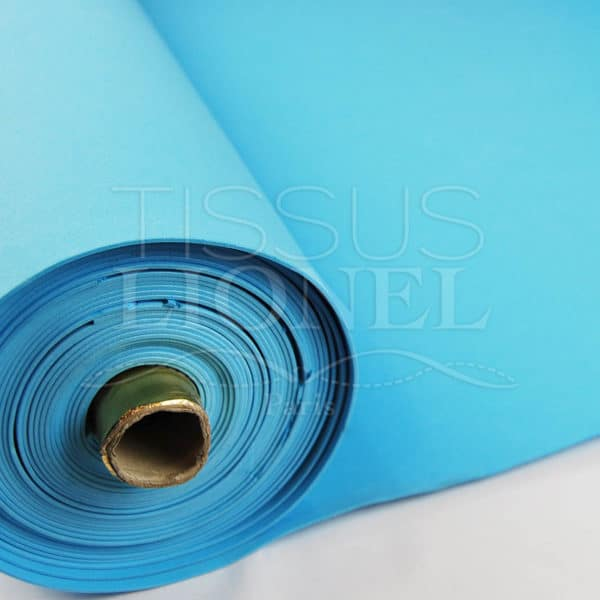 gomme eva uni turquoise clair