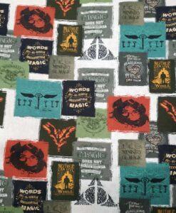Волшебная хлопковая ткань Гарри Поттера