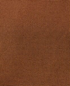 Tissu polyester rayure ton marron