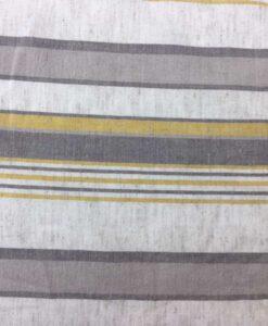 Tissu lin viscose rayure motif 2