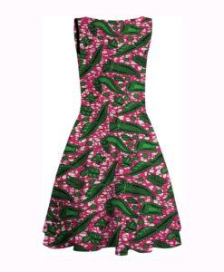 Wax- Tissus africain feuille verte