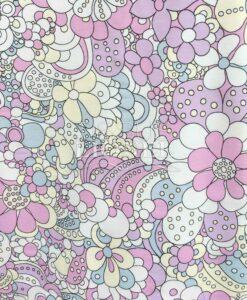 Jersey Magische Blumen mit uv