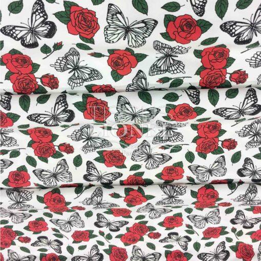 Jersey Magique rose rouge sans uv