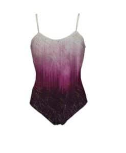 Lycra body gradiente gemma viola
