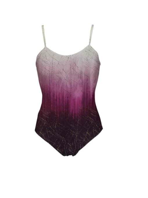 Justaucorps Lycra dégradé merveille violet