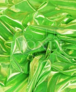 neon groene en gouden laser verenigd