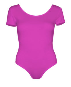 Lycra brillant Rose fluo