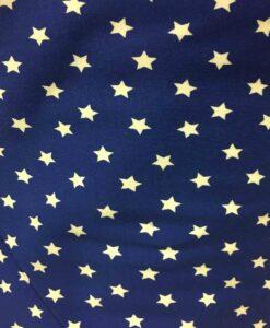 Lycra coton imprimé étoiles Wonder Woman