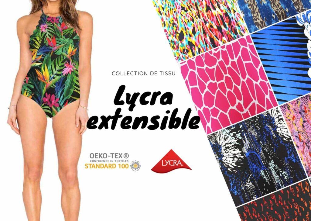 Lycra extensible