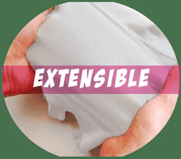 Lycra tissu extensible